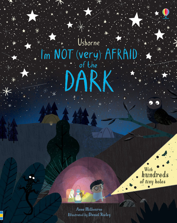 Im Not Very Afraid Of The Dark By Anna Milbourne & Daniel Rieley