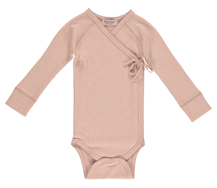 MarMar Copenhagen Mini LS Cotton Body in Rose colour