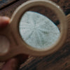 Wooden Magnifying Lens On the Go