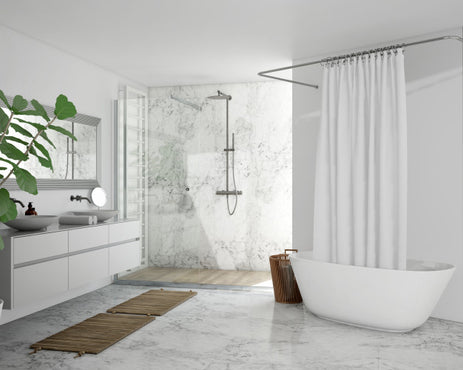 The luxurious bathroom features worth spending on