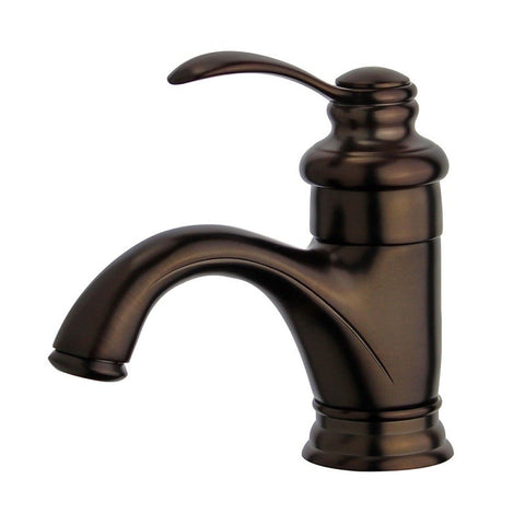 Bellaterra Home Single Hole Single-Handle Barcelona - Bathroom Faucet plus Overflow Drain in Oil Rubbed Bronze PARLOS 2-Handle Bathroom Sink Faucet with Metal Drain Assembly & Hose Lead-Free , 13590 - 10118A1-ORB-W