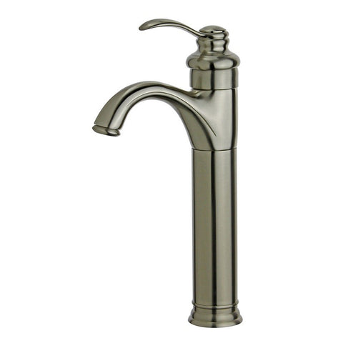 Bellaterra Home Bathroom Faucet - Single Hole Single-Handle Bathroom Faucet with Overflow Drain in Oil Rubbed Bronze, Madrid High Quality, Durable & Reliable - 10118A2-ORB-W