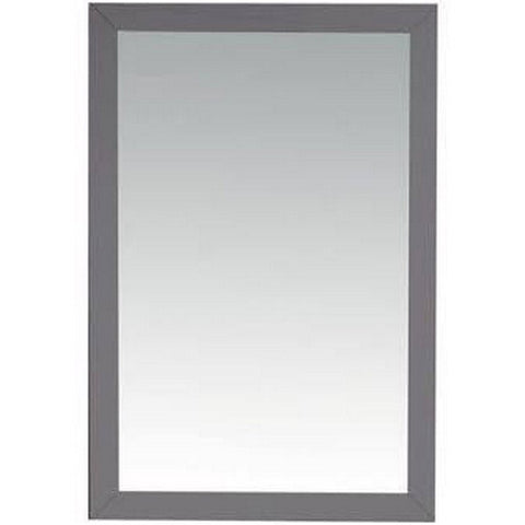 Laviva Vanity Mirror – Premium Quality Materials Fully Framed 24 Inch Mirror in Grey | 24 inches W x 30 inches H - 313FF-2430G