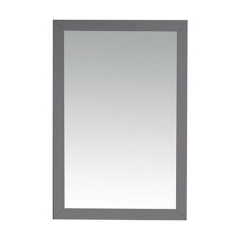 Laviva Vanity Mirror – High Quality, durable & reliable, Fully Framed 24 Inch Maple Mirror in Grey | 24 inches W x 30 inches H - 313FF-2430MG