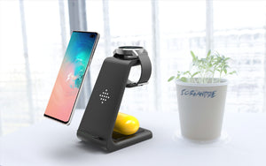 INNO 3-in-1 Wireless Charging Station (Apple/Samsung)