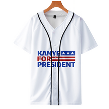 Load image into Gallery viewer, Kanye West Stylish Baseball Tee