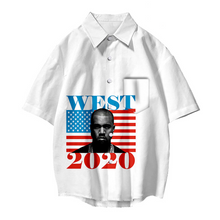 Load image into Gallery viewer, Kanye West Stylish Presidential Shirt