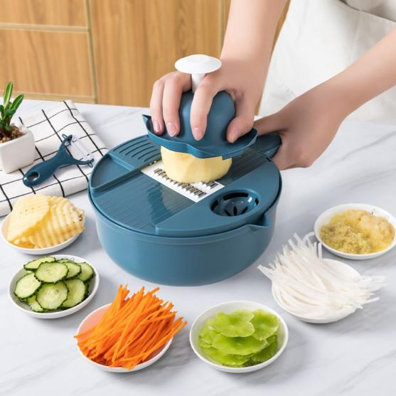 PURIN 9-In-1 Multifunctional Vegetable Slicer