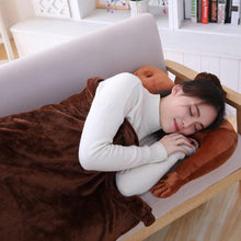 Load image into Gallery viewer, Boyfriend Pillow with Blanket