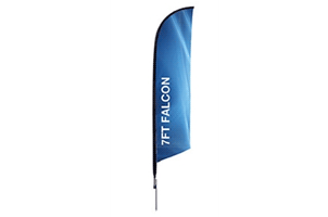 Falcon banner one side or two sided print