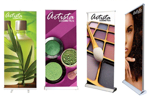SilverStep Retractable Banner Stand 24""