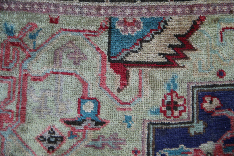 Traditional Vintage Handmade Rug 80x120cm - The Rugs Outlet