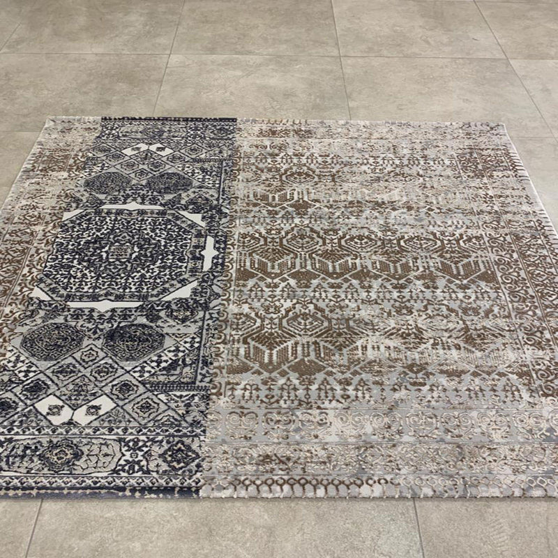 KP 1389 Grey 170x170cm Rug - The Rugs Outlet