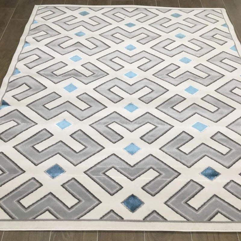 KP 2024 Cream 160x220cm Rug - The Rugs Outlet