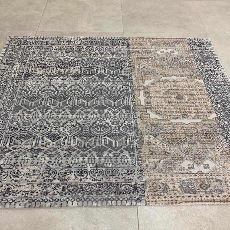 KP 1403 Grey 170x170cm Rug - The Rugs Outlet