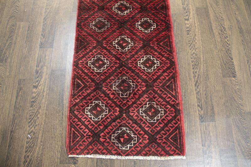 Traditional Vintage Handmade Rug 66x290cm - The Rugs Outlet