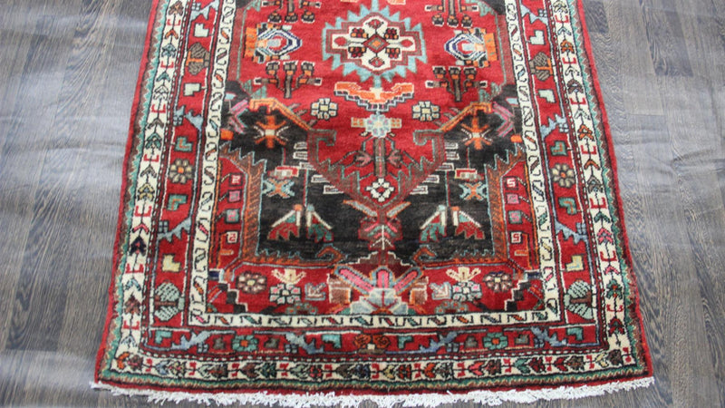 Traditional Vintage Handmade Rug 106x160cm - The Rugs Outlet