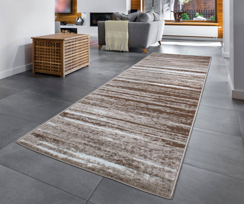 Modern Palma 1495 Brown Beige Rug The Rugs Outlet