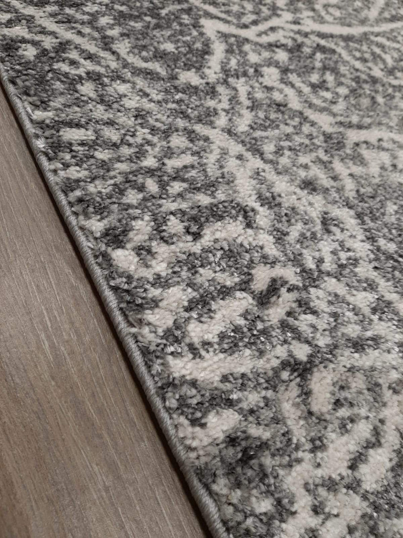 KP 1681 Grey 160x230cm Rug - The Rugs Outlet