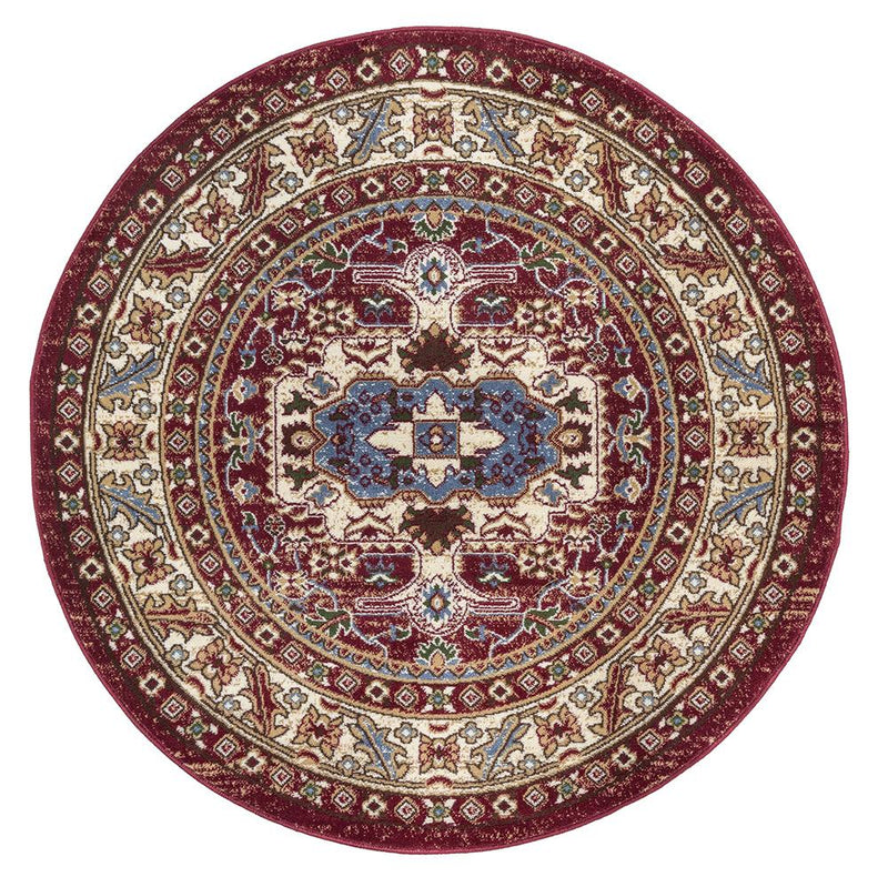Qashqai 5578 Traditional Red Rug - The Rugs Outlet