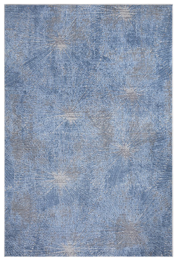Stratus 418 Blue Rug The Rugs Outlet