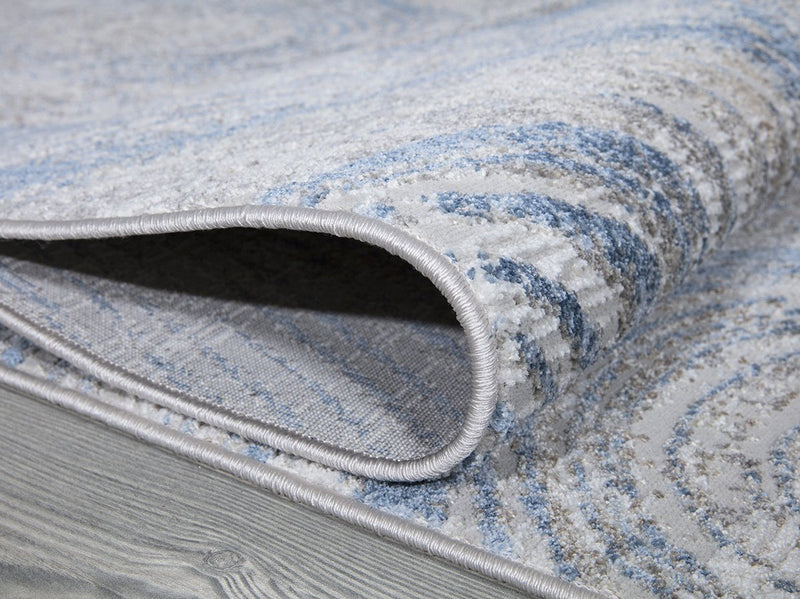 Stratus 420 Blue Rug - The Rugs Outlet