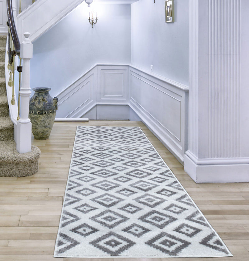 Trendy 7984 White Rugs - The Rugs Outlet