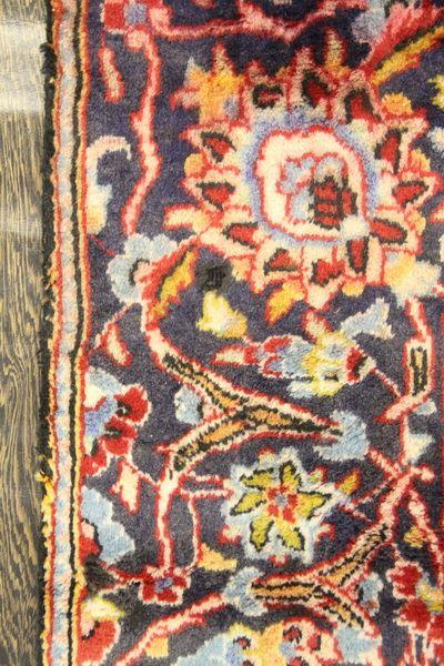 Traditional Vintage Handmade Rug 228x346cm - The Rugs Outlet