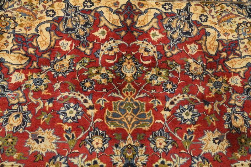 Traditional Vintage Handmade Rug 295x426cm - The Rugs Outlet