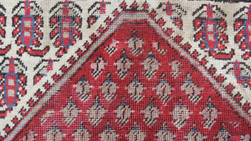 Traditional Vintage Handmade Rug 118x190cm - The Rugs Outlet