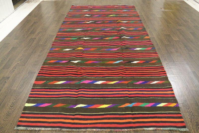 Traditional Vintage Handmade Rug 160x332cm - The Rugs Outlet