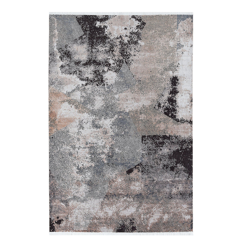 Elexus Ruby 03055 Grey Beige Rugs - The Rugs Outlet