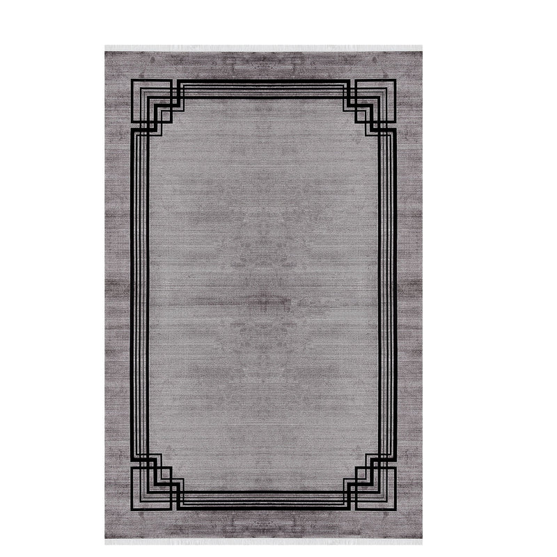 Elexus Ruby 03061 Grey Rugs - The Rugs Outlet