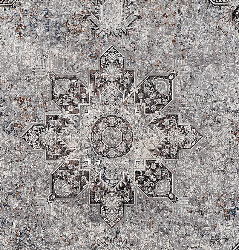 Kalipso 01720 Grey Rugs - The Rugs Outlet