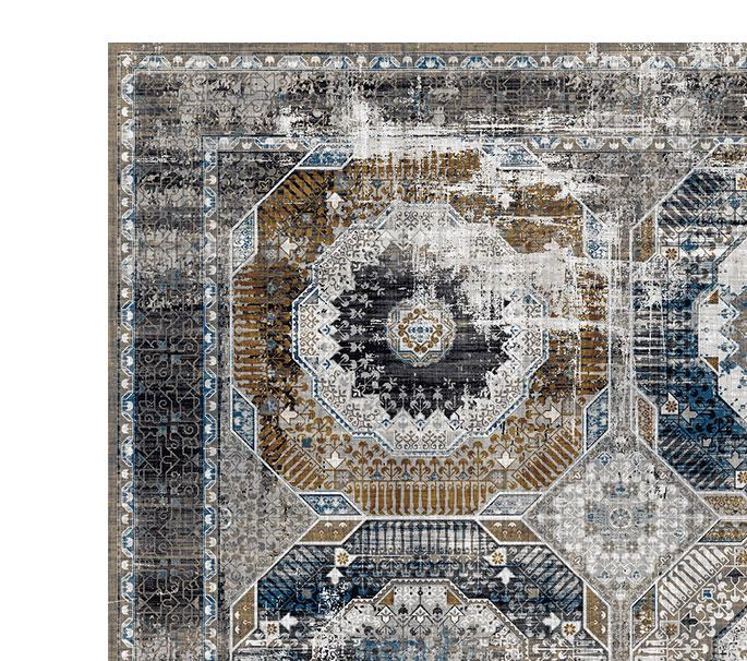 Kalipso 01721 Grey Rugs - The Rugs Outlet