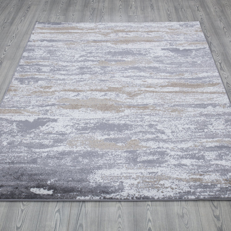 Monaco 1944 Cream & Grey Rug - The Rugs Outlet
