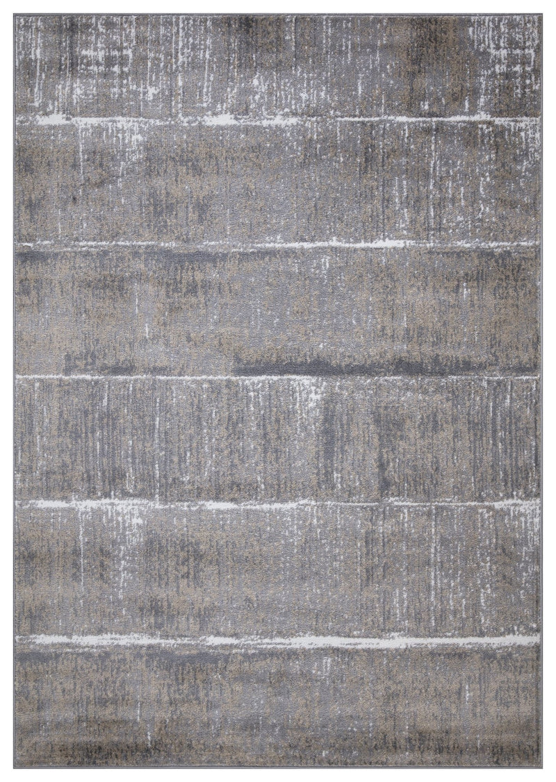 Monaco 1945 Beige & Grey Rug - The Rugs Outlet