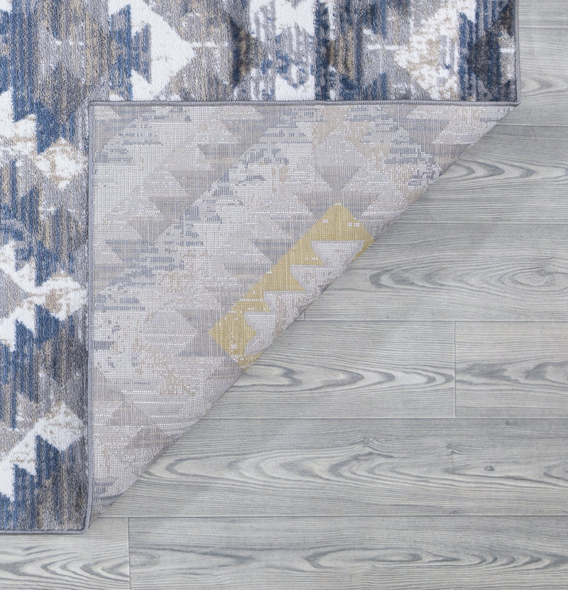 Paris 1994 Gold & Grey Rug - The Rugs Outlet