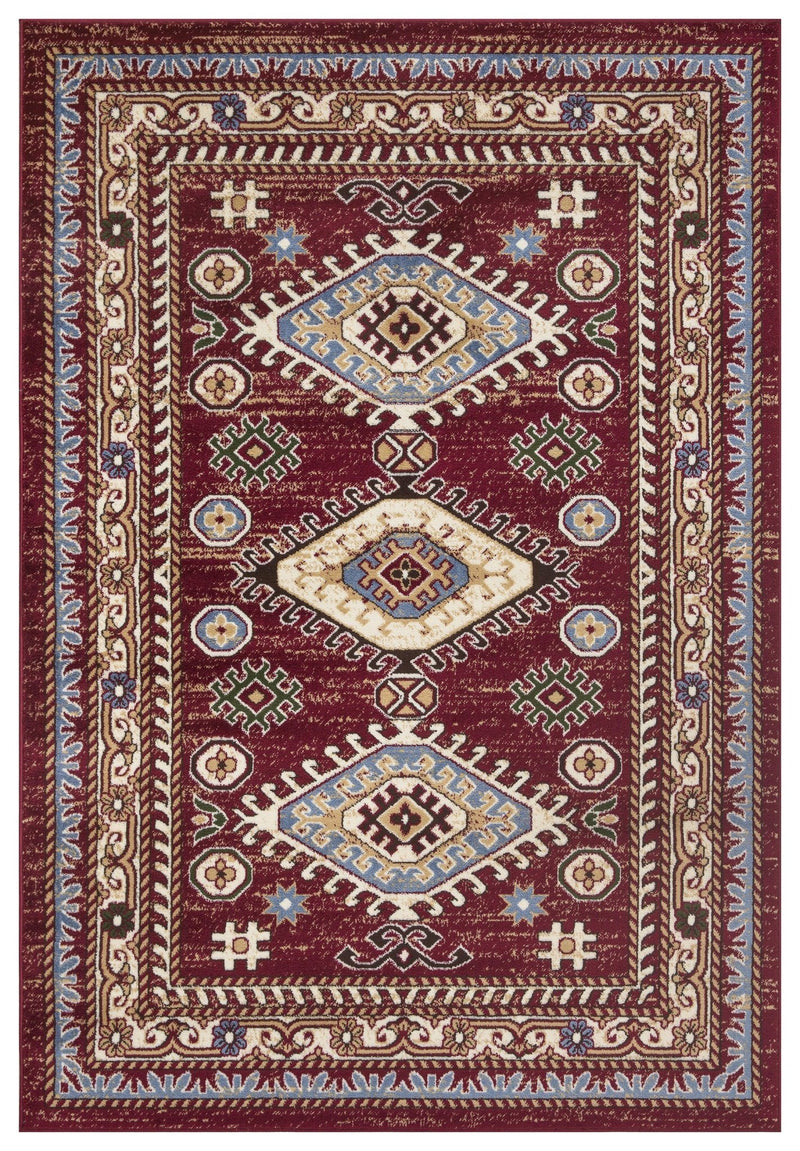 Qashqai 5576 Traditional Red Rug The Rugs Outlet