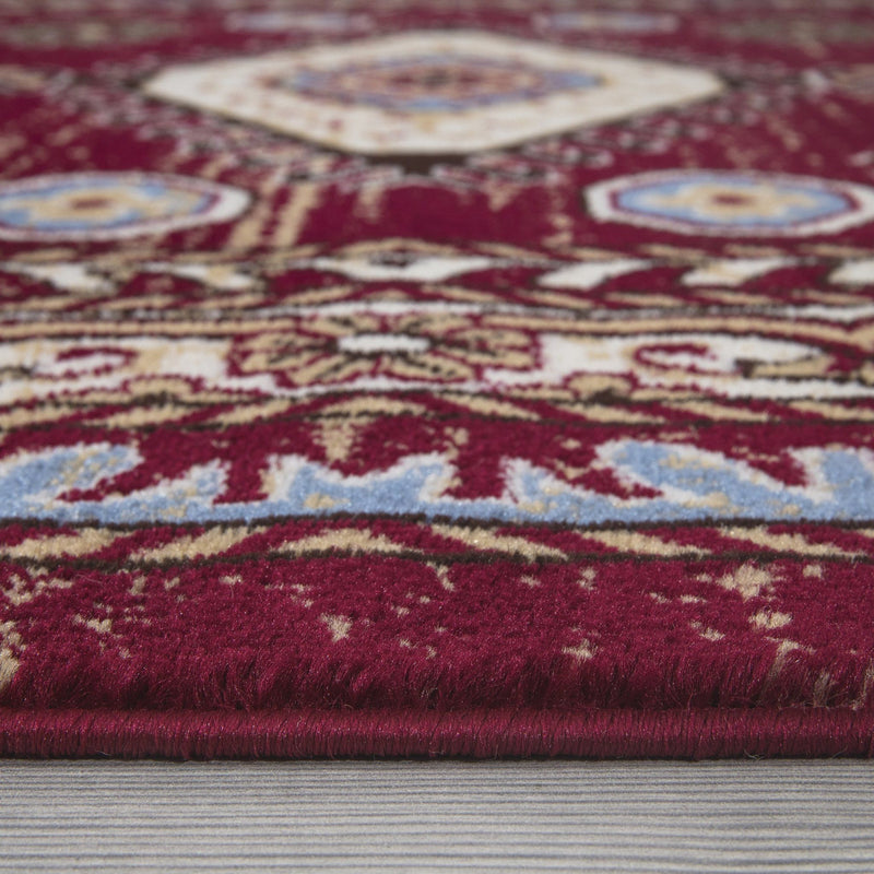 Qashqai 5576 Traditional Red Rug - The Rugs Outlet