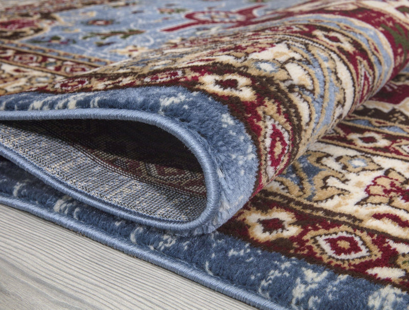 Qashqai 5578 Traditional Blue Rug - The Rugs Outlet