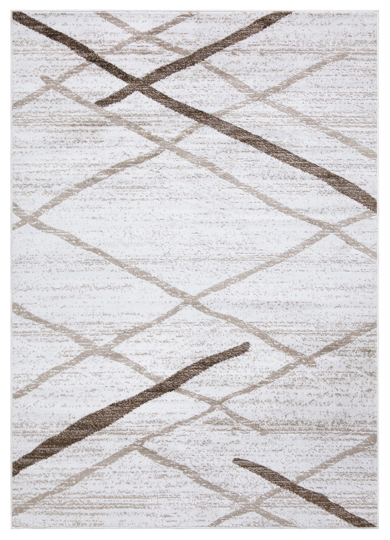Modern Salvador Cream Beige Rug The Rugs Outlet