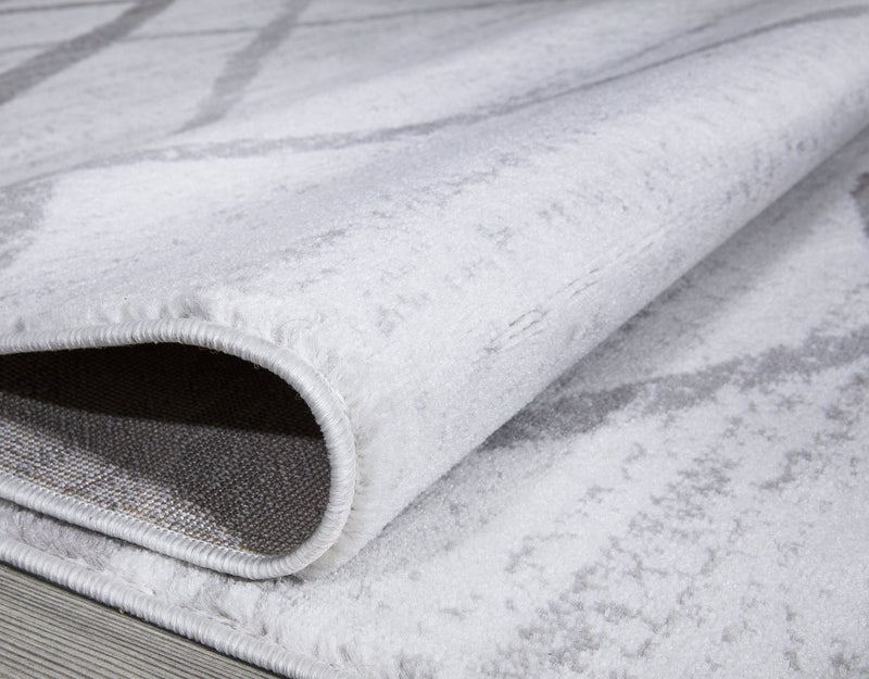 Modern Salvador Cream & Grey Rugs The Rugs Outlet