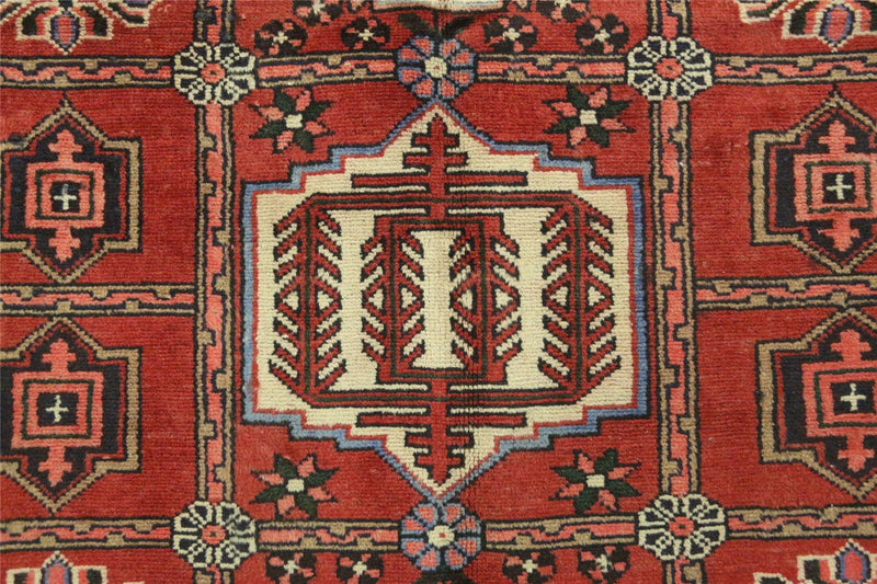 Traditional Vintage Handmade Rug 100x140cm - The Rugs Outlet