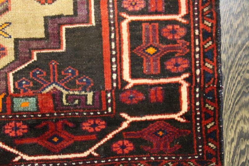 Traditional Vintage Handmade Rug 100x195cm - The Rugs Outlet