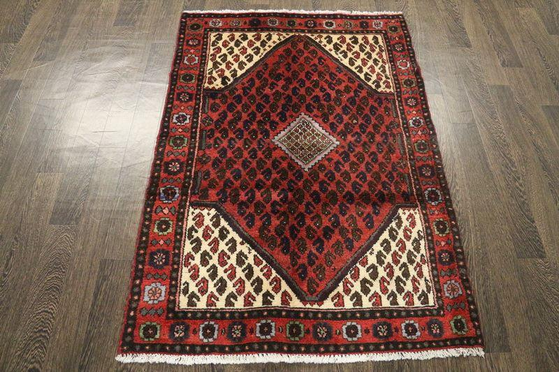 Traditional Vintage Handmade Rug 103x150cm - The Rugs Outlet