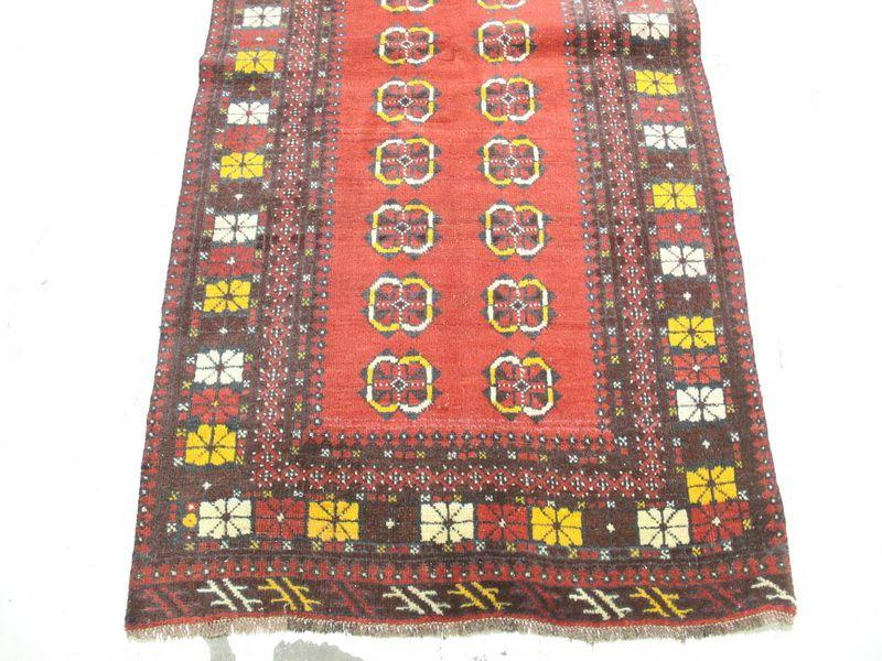 Traditional Vintage Handmade Rug 103x184cm - The Rugs Outlet