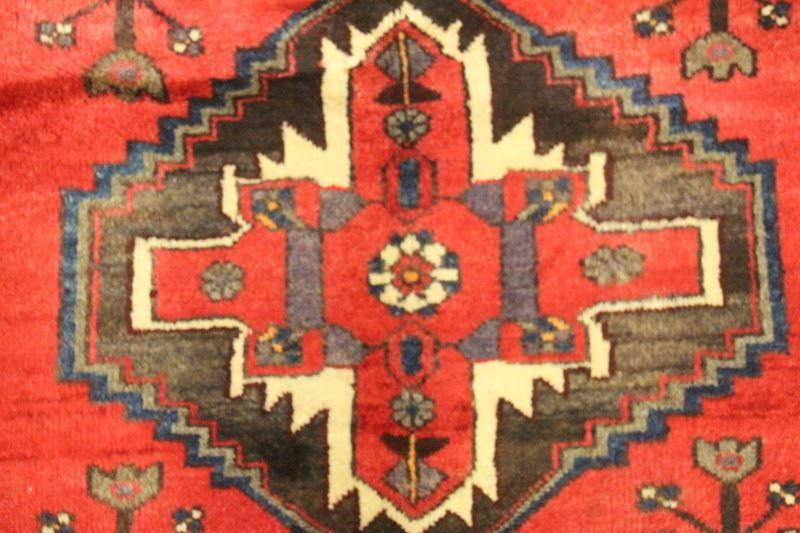 Traditional Vintage Handmade Rug 106x150cm - The Rugs Outlet