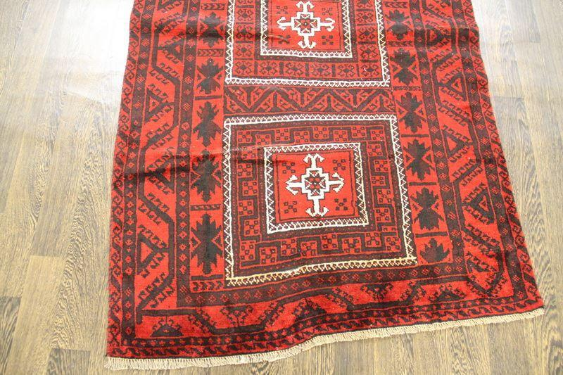 Traditional Vintage Handmade Rug 115x185cm - The Rugs Outlet