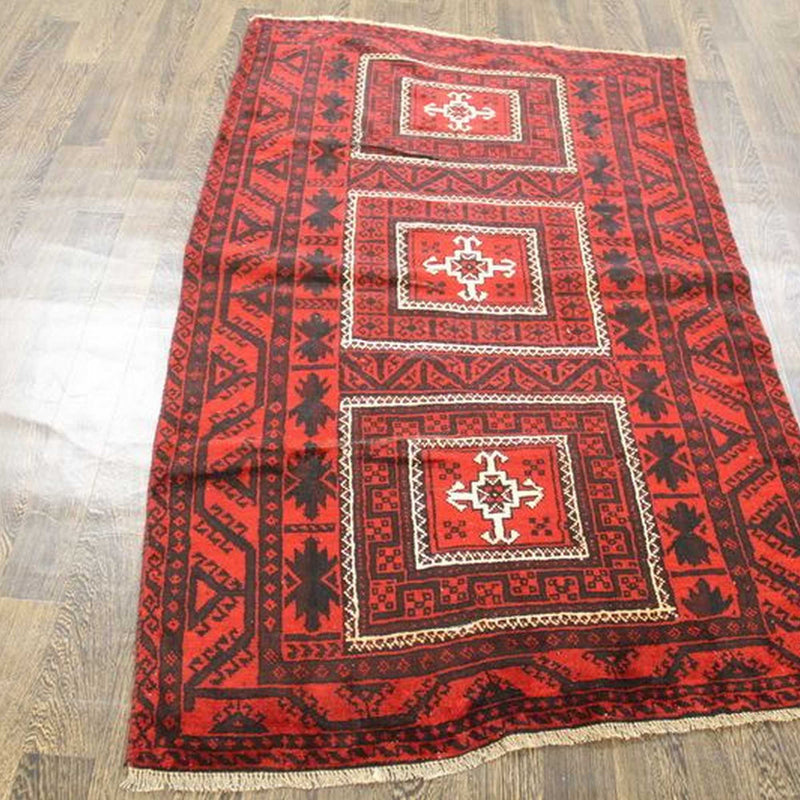 Traditional Vintage Handmade Rug 115x185cm The Rugs Outlet